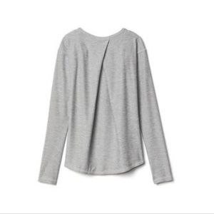 Athleta Girl Swing Top with Pleat Back